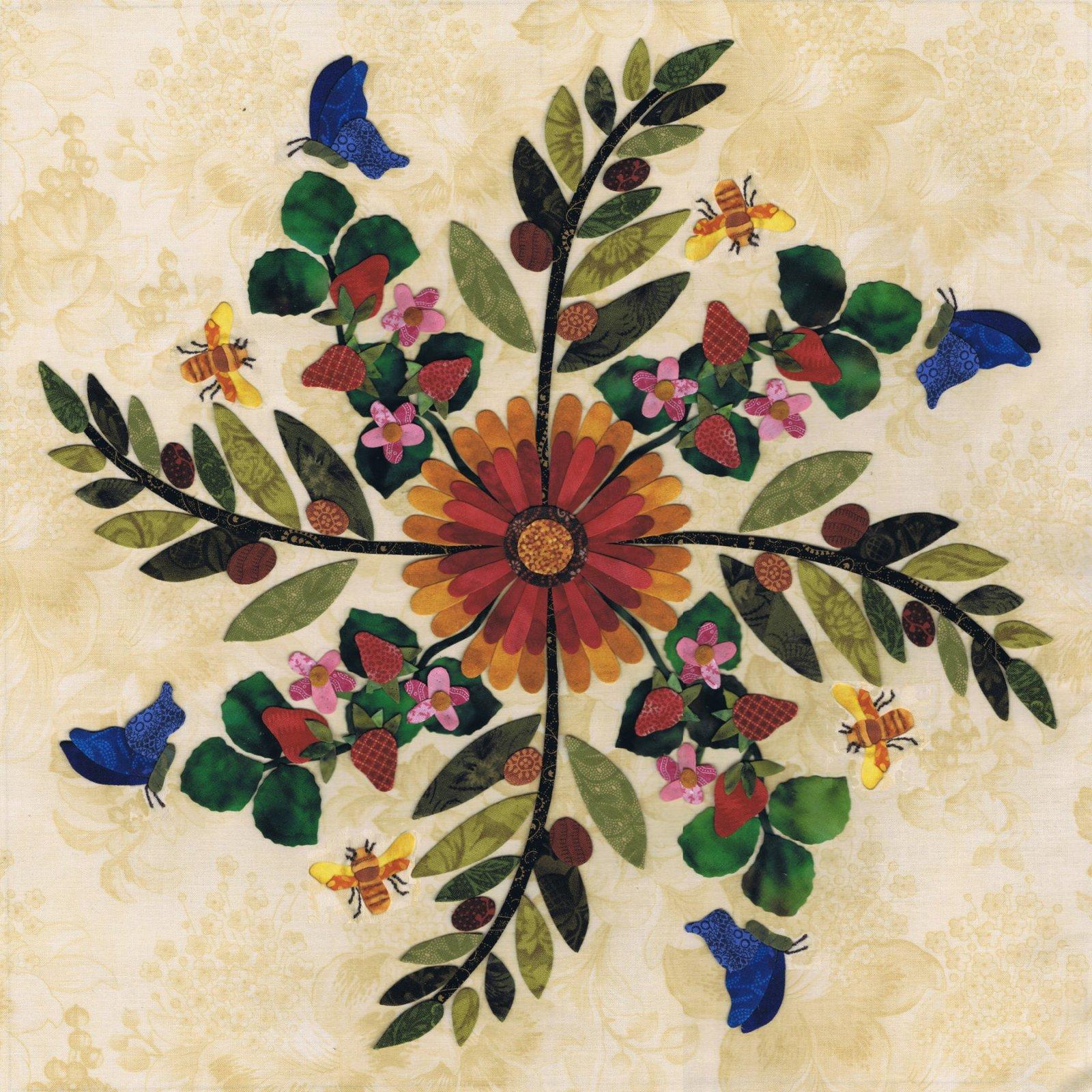 American Album - Oklahoma - Indian Blanket Block 5