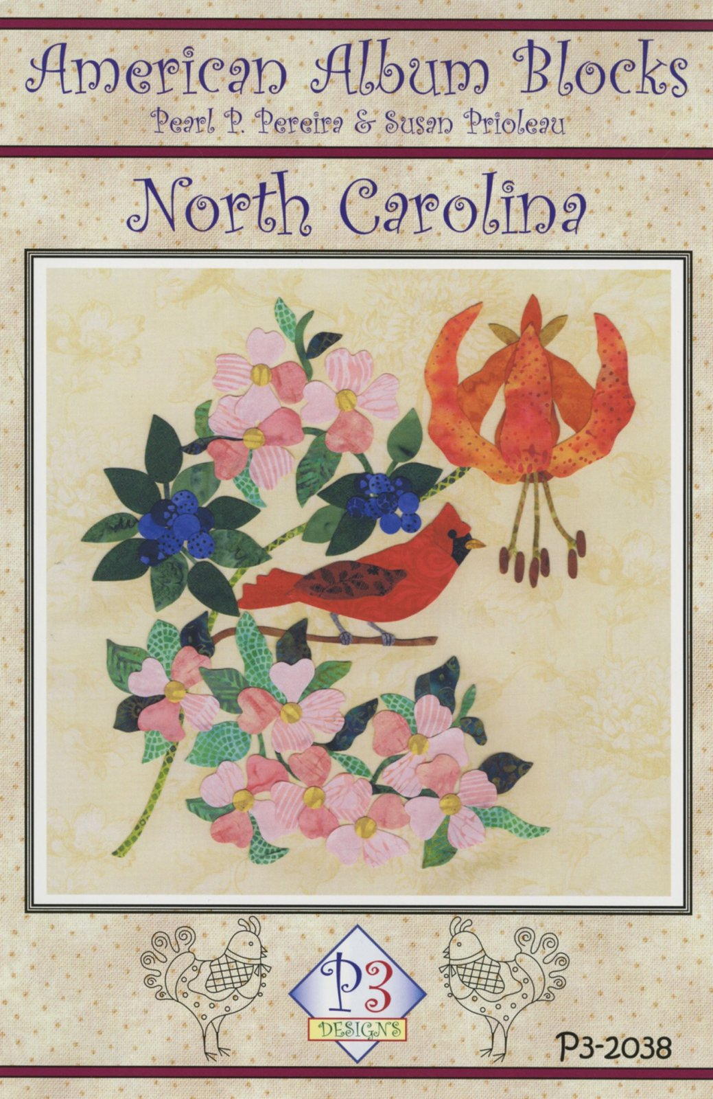 American Album - North Carolina Tarheel State Block 38