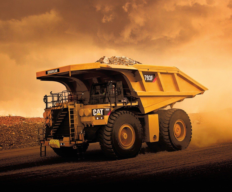 CAT Dump Truck Panel - P9105R-PANEL
