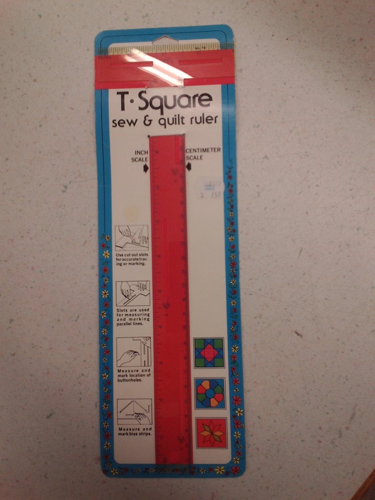 T Square Ruler