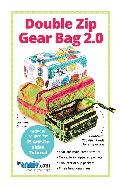 Double Zip Gear Bags 2.0