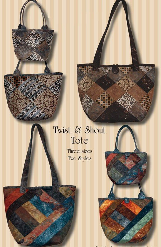 Twist and Shout Tote