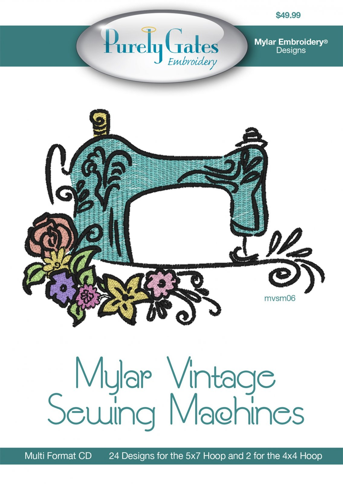 CD Vintage Sewing Machines Machine Embroidery