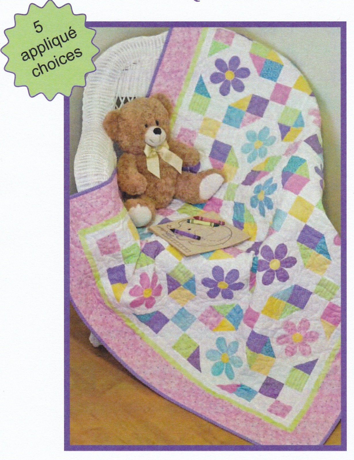 Play Time Toddler's Quilt