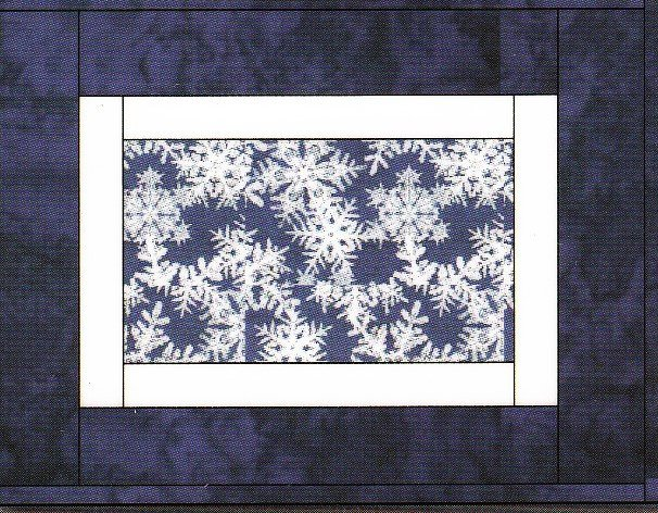 Framed Seasons Quilt As You Go Placemats