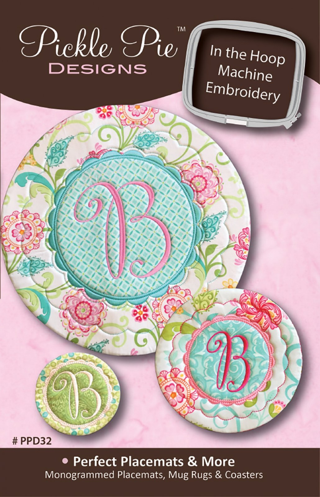 CD Perfect Placemats & More In the Hoop Machine Embroidery