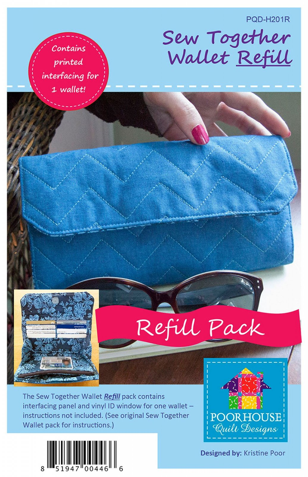 Refill Kit Sew Together Wallet