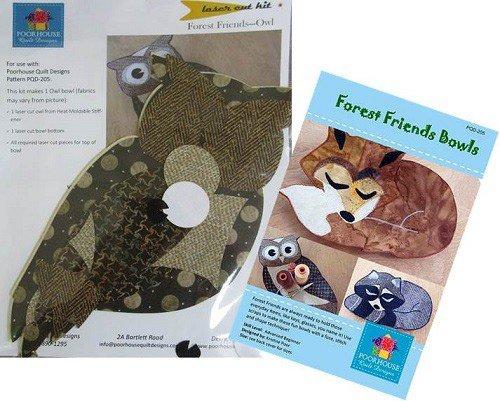 Laser Cut Kit Forest Friends - OWL