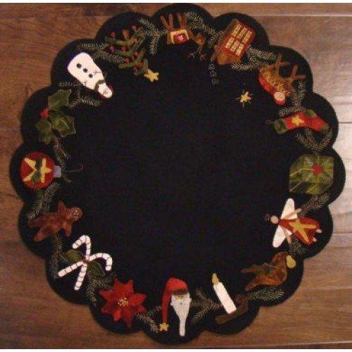 Primitive Gatherings - Christmas Time Table Mat Kit