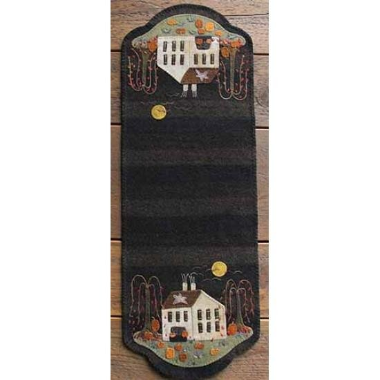 Primitive Gatherings - Pumpkin Farm Table Runner Kit