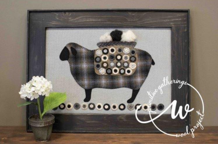 Primitive Gatherings - Have Ewe Any Wool Applique Kit