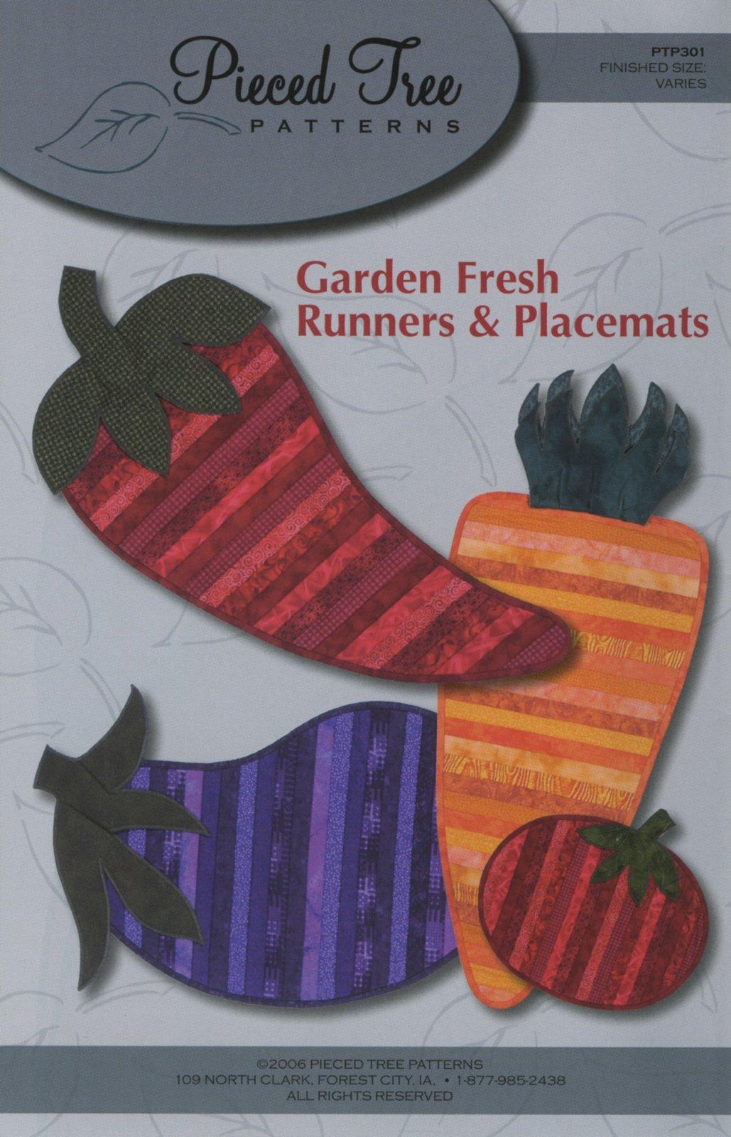 Garden Fresh Runners & Placemats