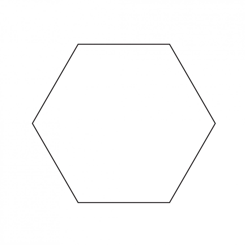 3in Hexagon Papers 100ct