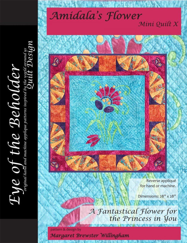 Amidala's Flower Mini-Quilt X