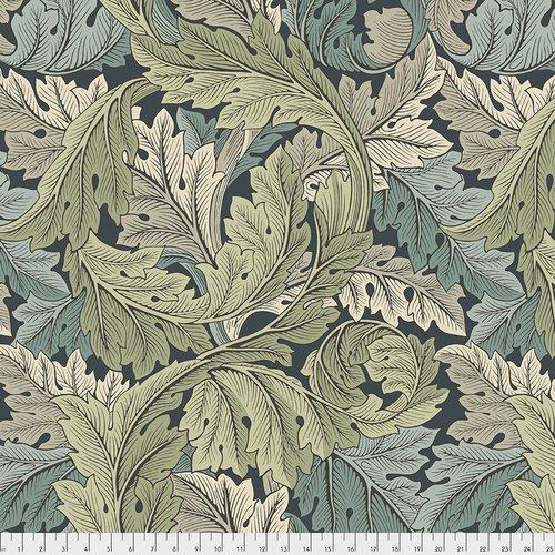 The Original Morris & Co.  Wide Backing - Standen Collection Acanthus - Verdant- QBWM002.VERDANT
