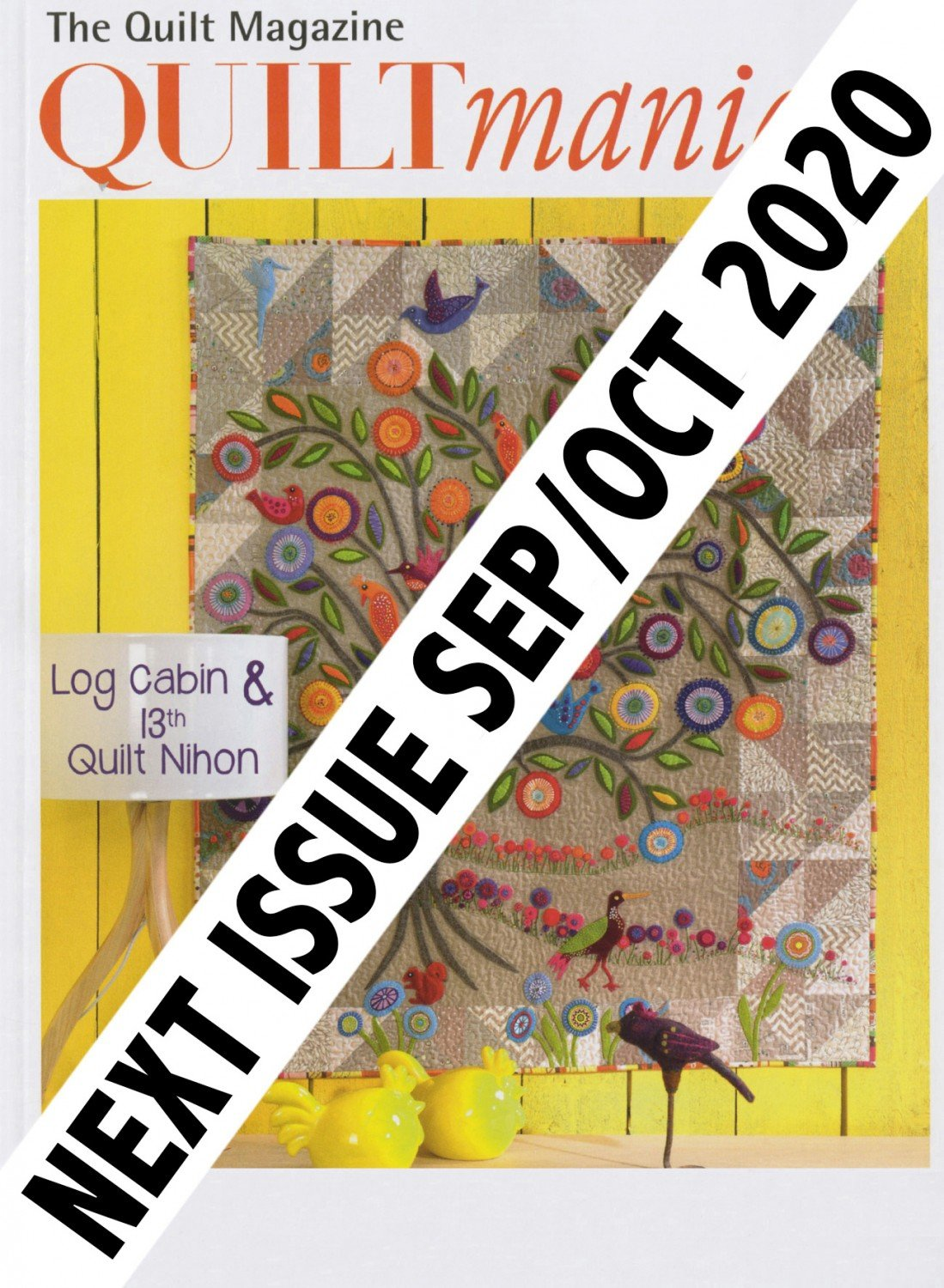 Quiltmania Magazine 139 Sept/Oct 2020 ~RELEASE DATE Sept 3/2020~
