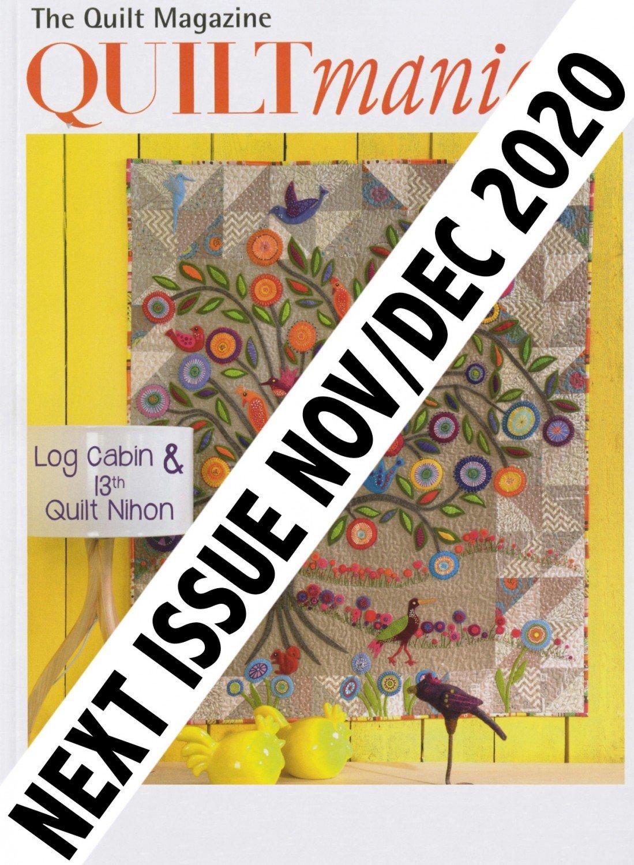 Quiltmania Magazine 140 Nov/Dec 2020 ~RELEASE DATE Nov 5, 2020~