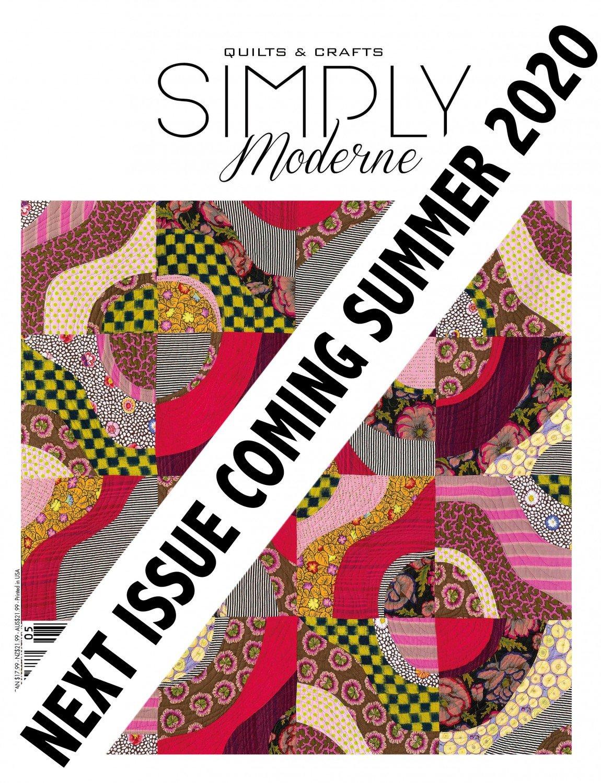 Quarterly Simply Modern Magazine 21 ~RELEASE DATE June 10, 2020~