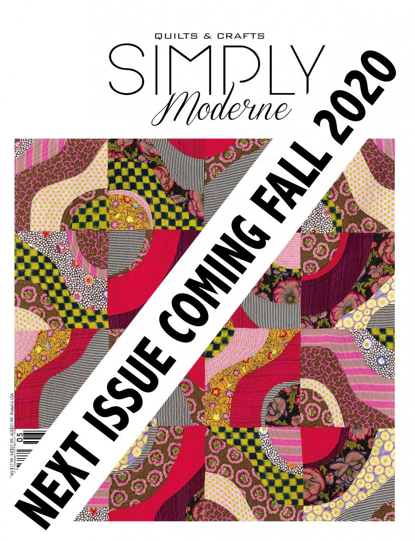Quarterly Simply Modern Magazine 22 ~RELEASE DATE Sept 10, 2020~
