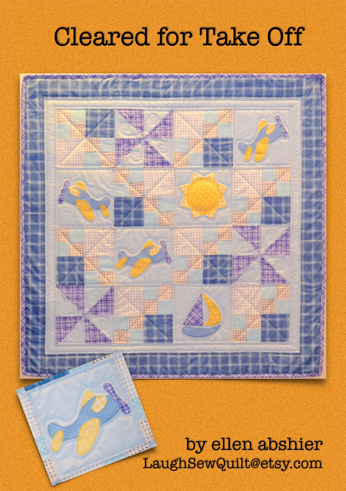 Quilt Pattern by Ellen Abshier The Fox