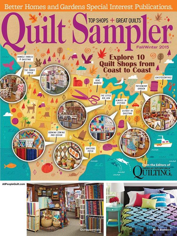 Quilt Sampler Magazine - Fall/Winter 2015