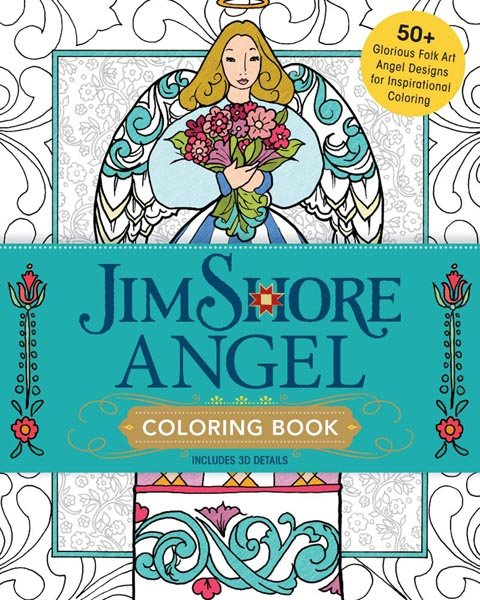 Jim Shore's Angel Coloring Book - Softcover