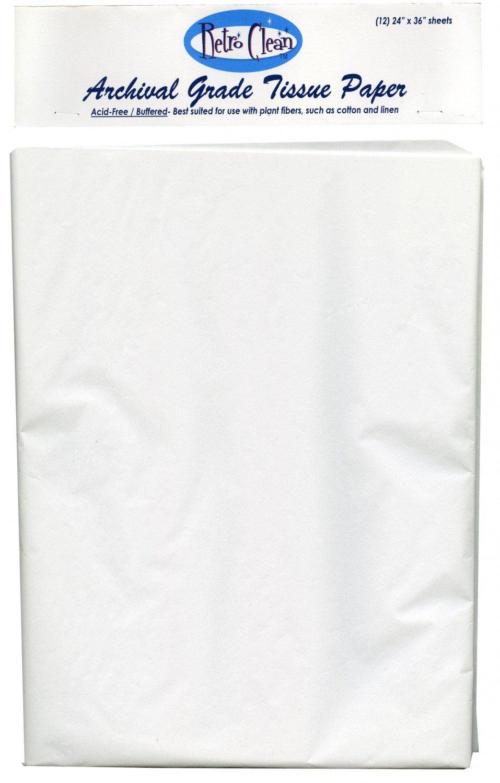 Archival Grade Buffered Tissue Paper