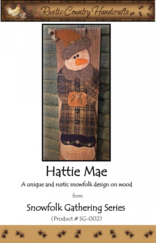 Hattie Mae Wool Applique