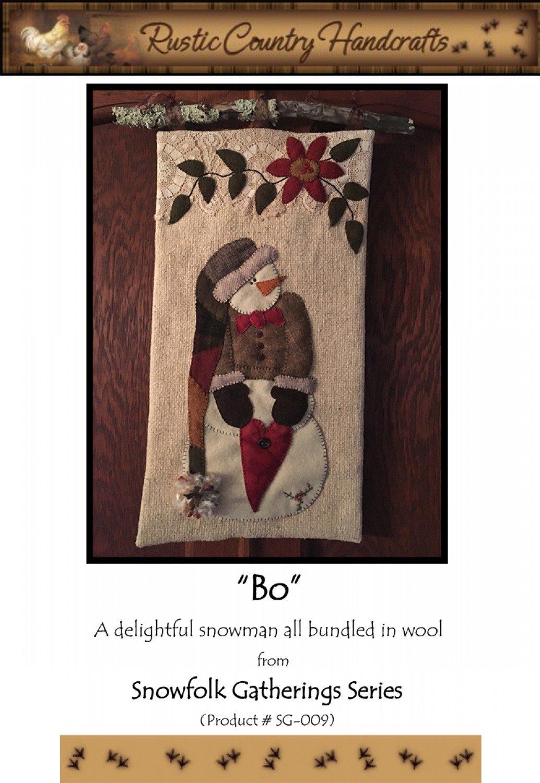 Bo Wool Applique