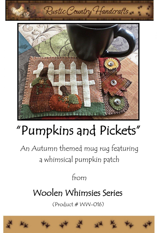 Pumpkins And Pickets