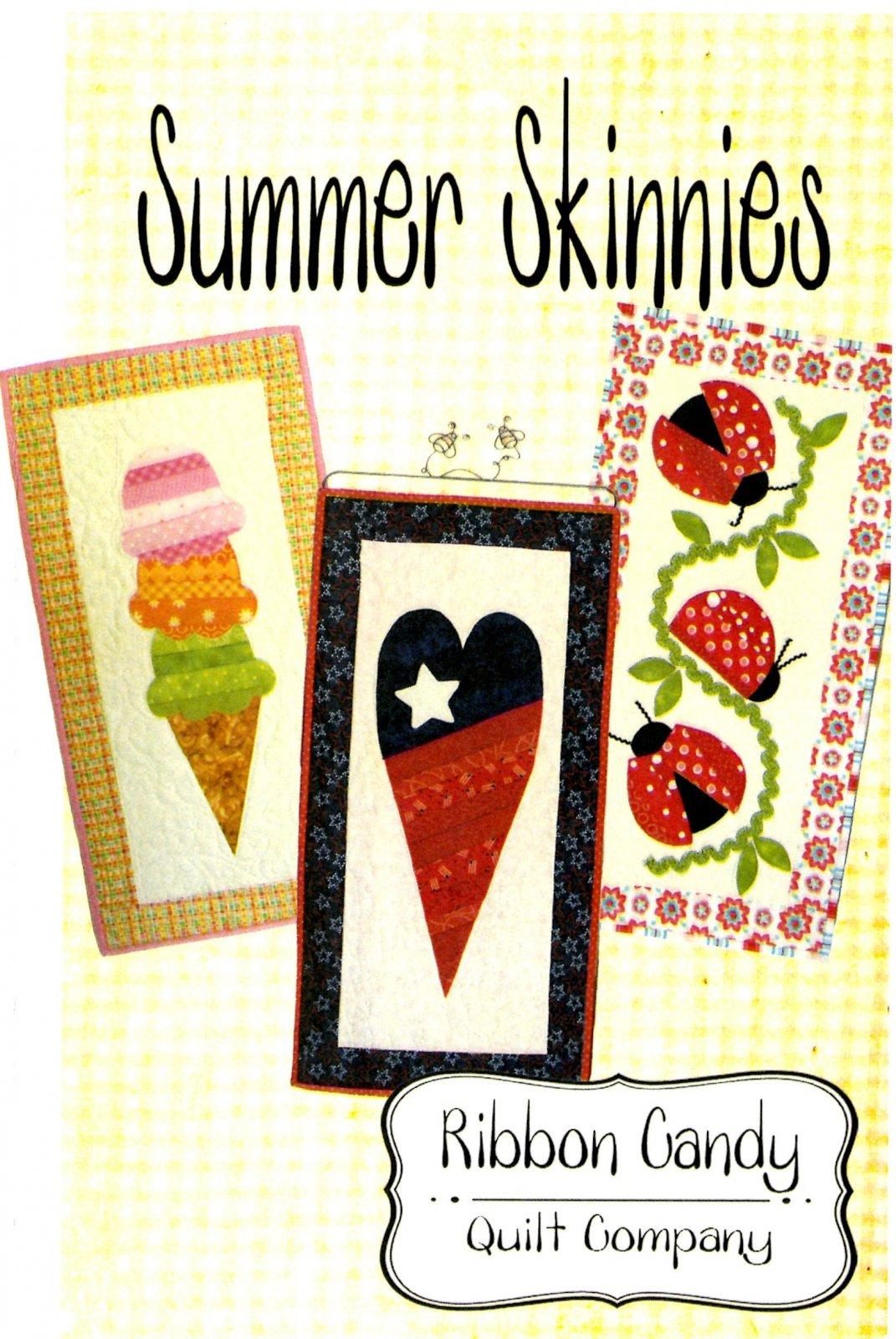 Seasonal Skinnies Summer Skinnies - Fusible Applique