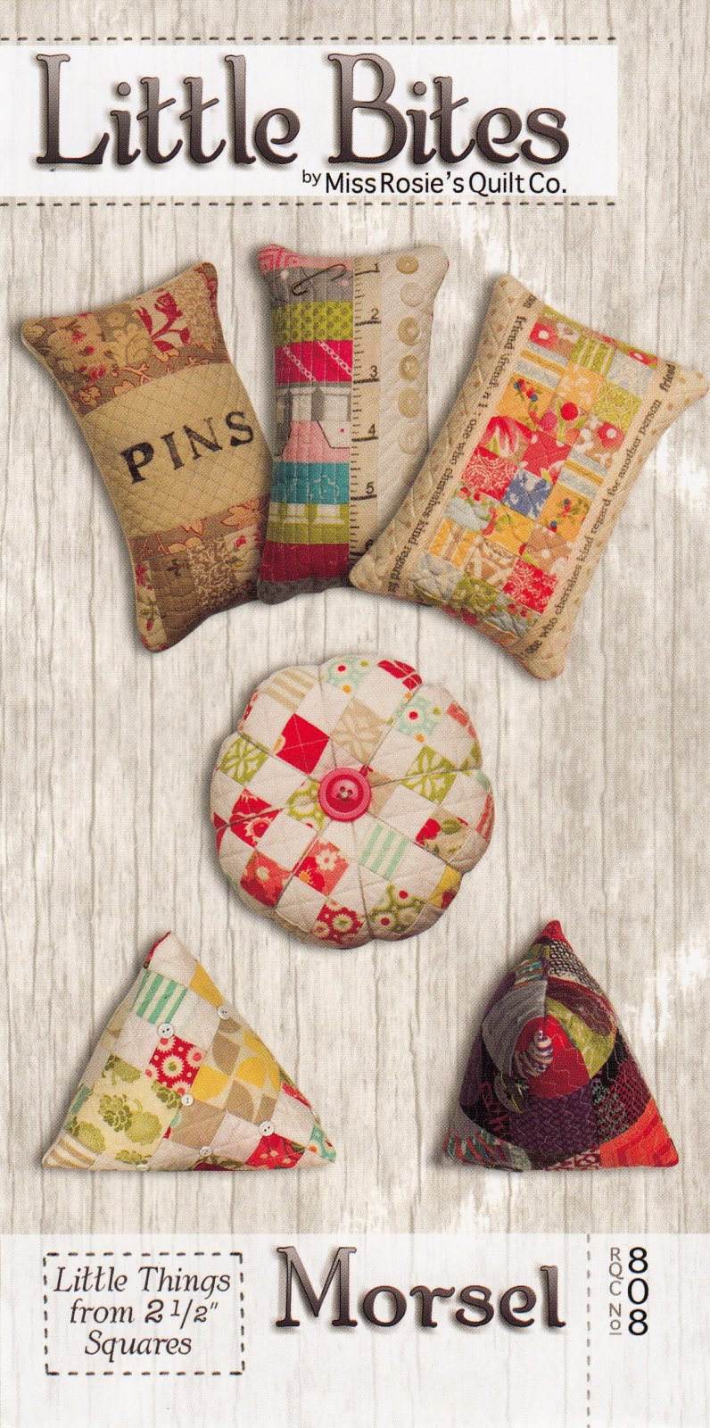 Little Bites - Morsel Pincushions