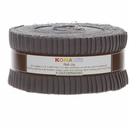 Kona Cotton Solids Roll Up - Coal