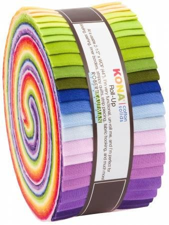 Kona Cotton Solids Roll Up - Annie Smith Designer Palette