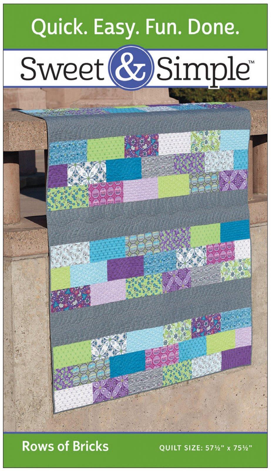 Sweet & Simple - Rows of Bricks Pattern Pack