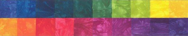Skittles Hand Dyed 20 Pack Fat Quarter Bundle
