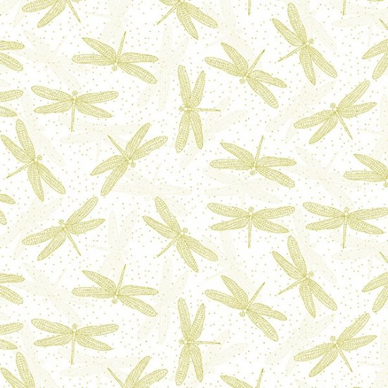 Graceful Garden - White/Gold