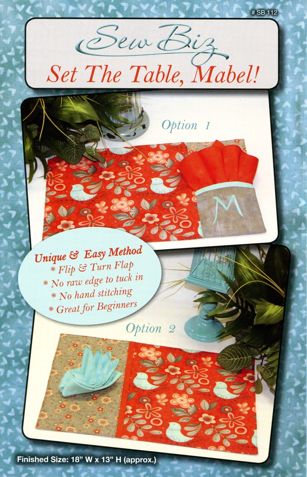 Set The Table Mabel Pattern