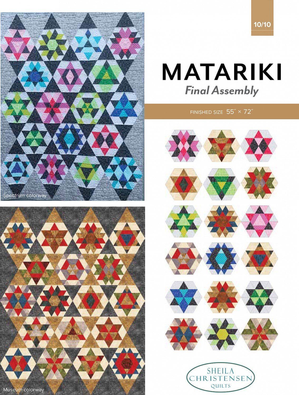 Matariki Block of the Month Part 10
