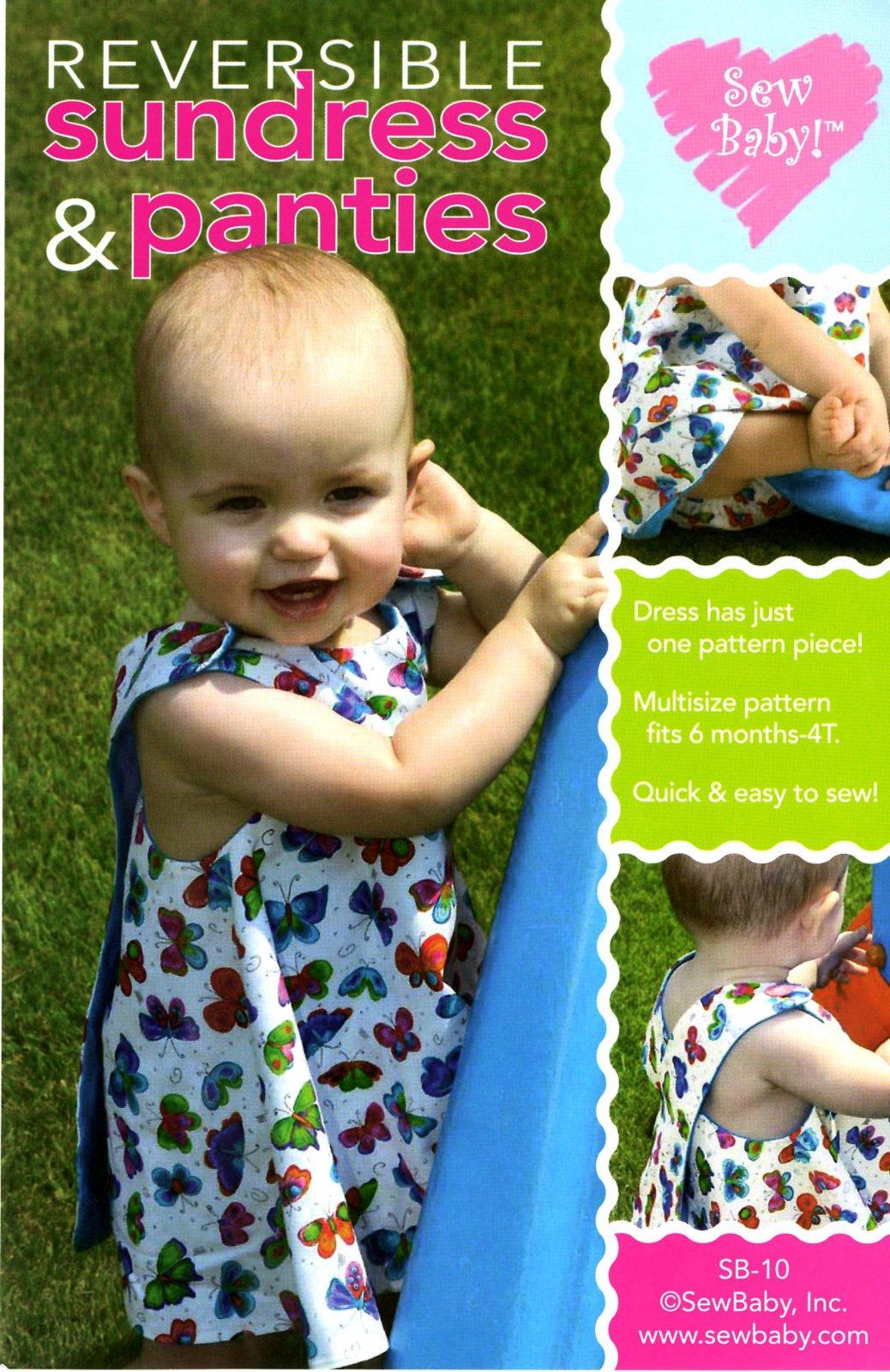 Reversible Sundress & Panties