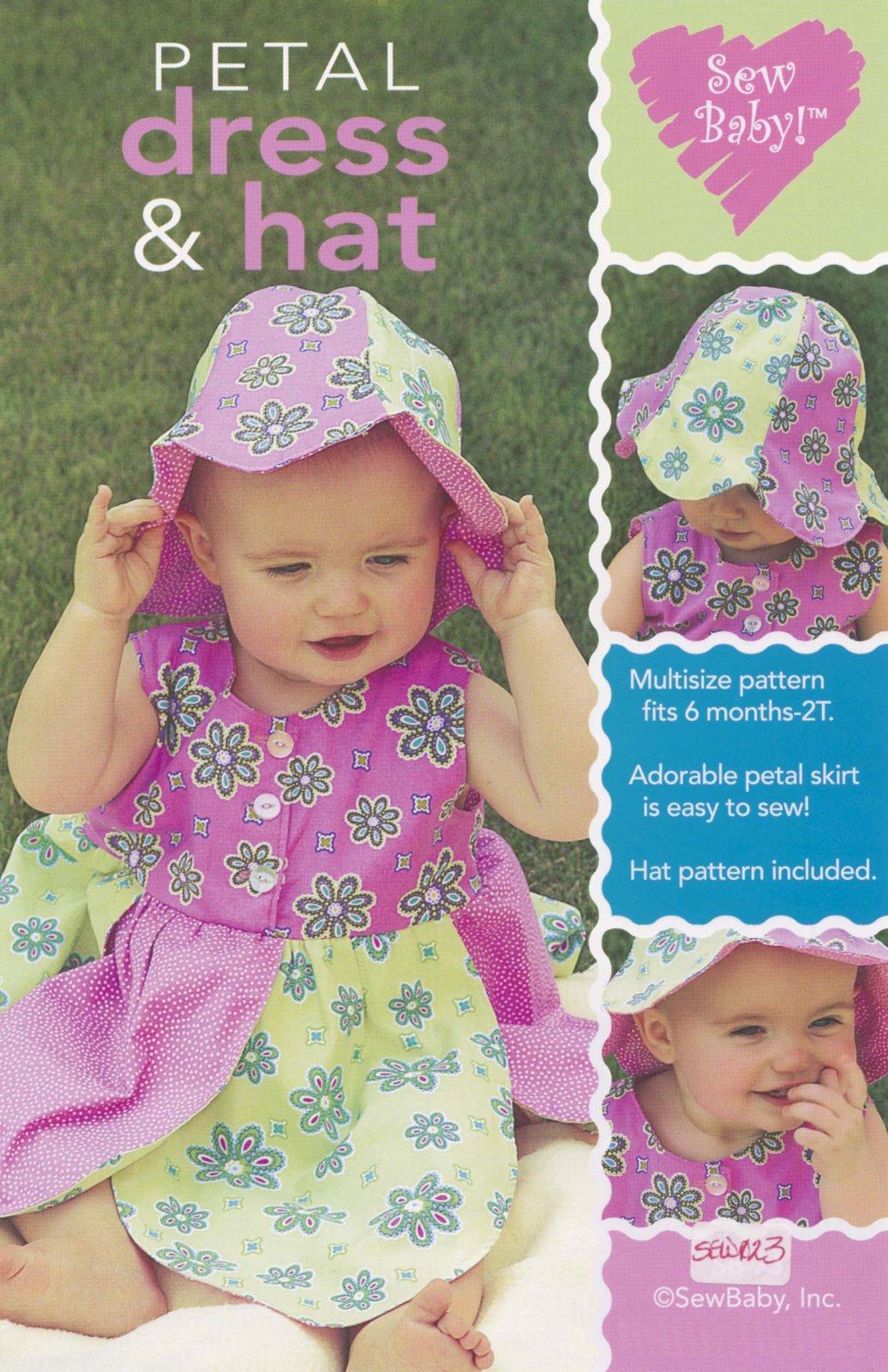 Petal Dress & Hat