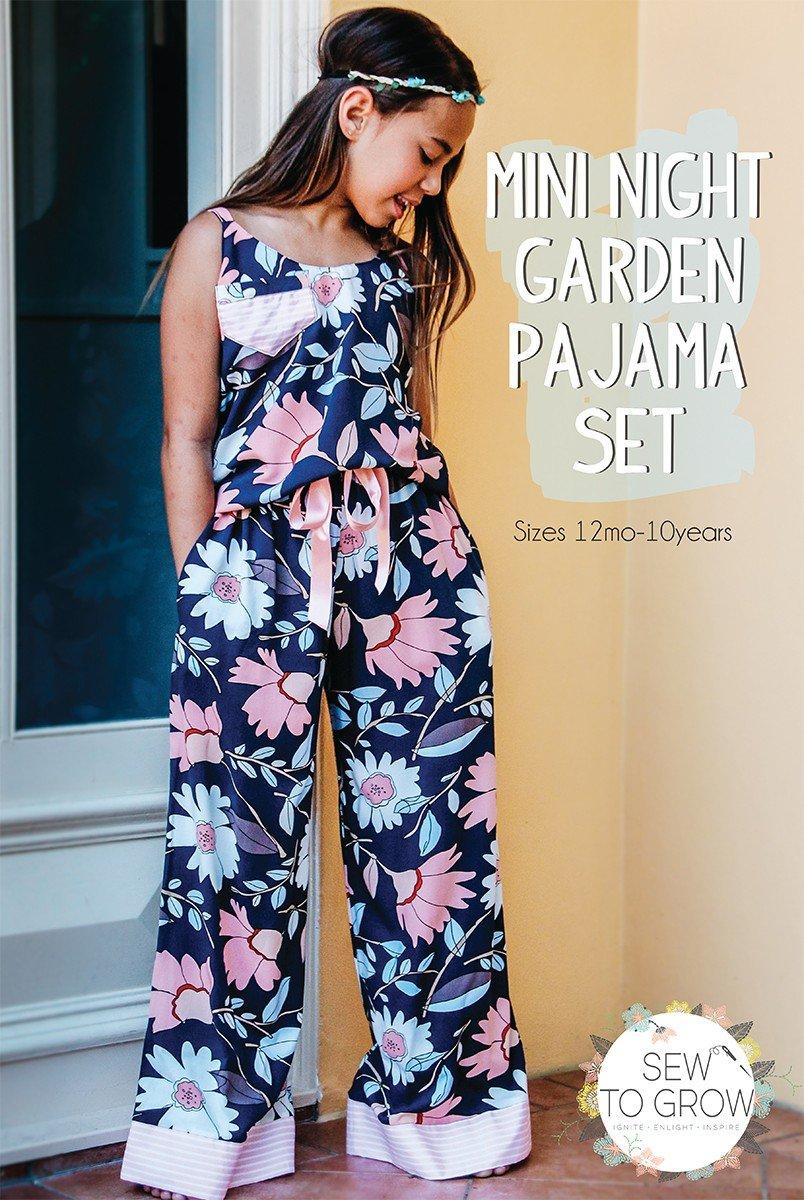 Mini Night Garden Pajama Set