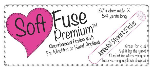 Soft Fuse Paper Backed Fusible Web 37in
