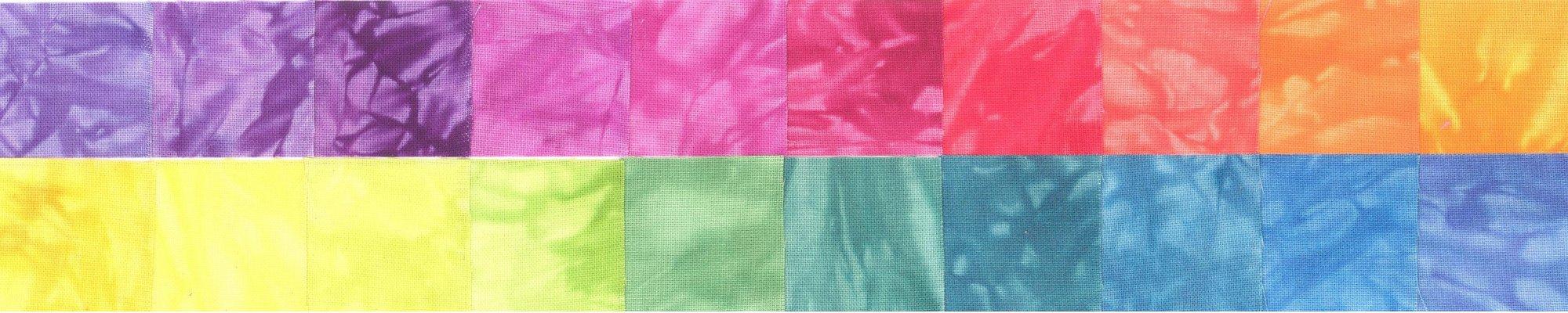 Shimmer Hand Dyed 20 Pack Fat Quarter Bundles