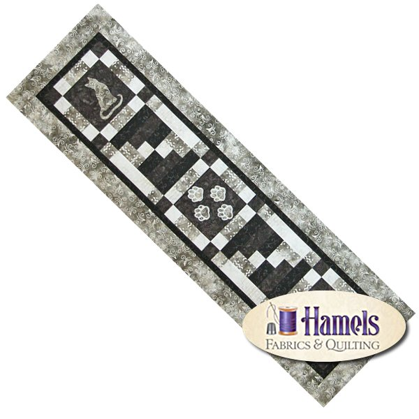 Cat Lovers Table Runner Or Wall Hangng Kit