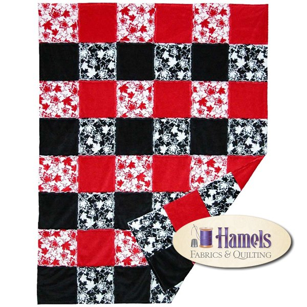 Canada Rag Quilt Kit by Shania Sunga