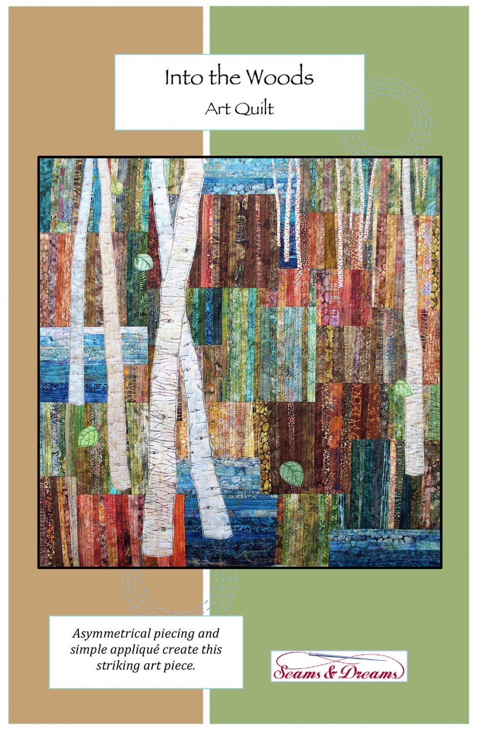 Into the Woods Art Quilt