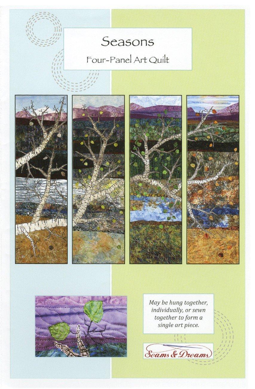 Seasons Four-Panel Art Quilt