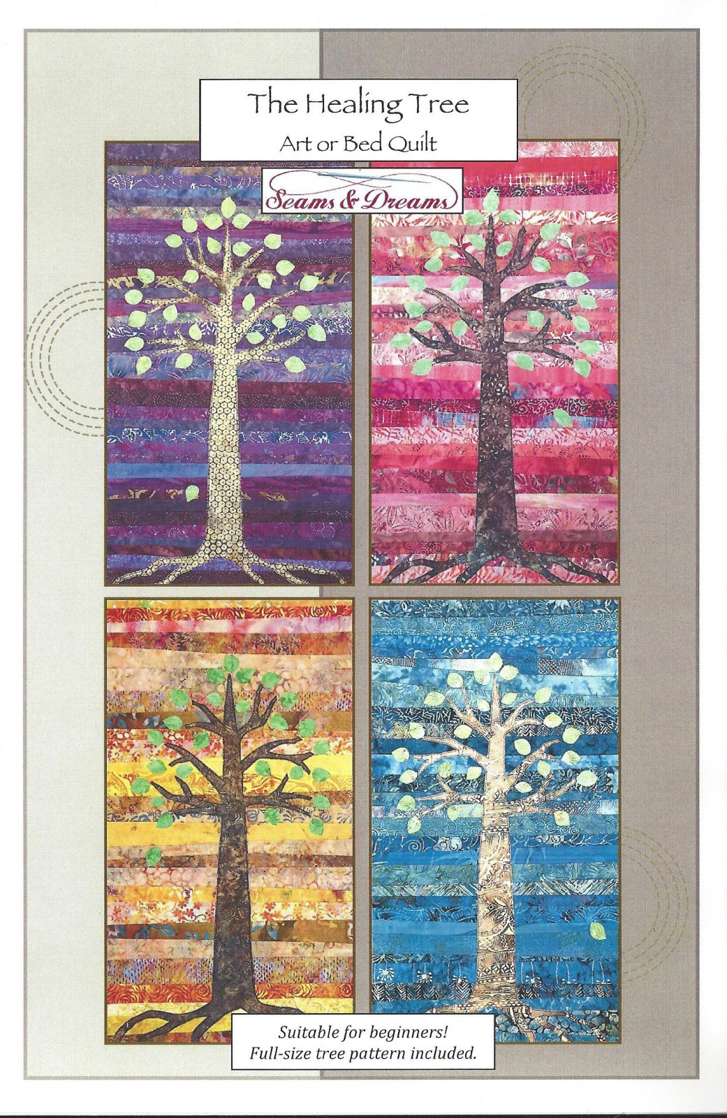 The Healing Tree Art or Bed Quilt