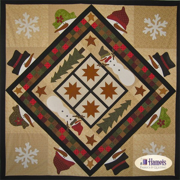 Snow Country Flannel Quilt Kit